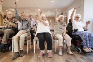 senior fitness, senior exercise, exercise ideas for seniors, elderly exercise, limited mobility, elderly fitness, group fitness, Lifetime Wellness