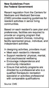 senior care guidelines