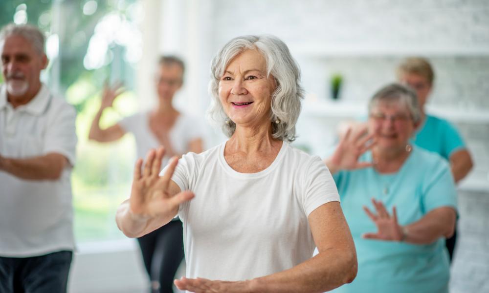 tai chi, senior health
